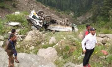 Himachal Pradesh: 3 killed, 4 injured after bus falls into gorge in Kullu's Mashnu Nallah