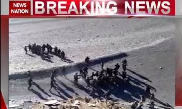 Visuals of Ladakh stone-pelting incident show Chinese intrusion well within Indian territory | Exclusive footage