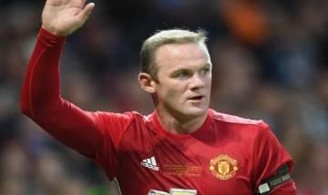 Evertone England striker Wayne Rooney announces retirement from international football