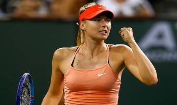 US Open 2017: Maria Sharapova stuns World No. 2 Simona Halep to make emphatic return to professional tennis