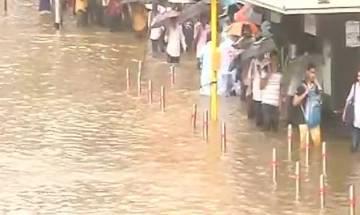 Mumbai rains: Mumbai local train service begin between Thane to Kalyan; schools, colleges to remain shut today