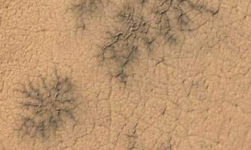 'Spiders' on Mars: Citizen scientists discover new landforms on red planet
