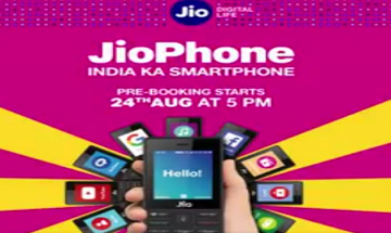 Jio Phone: Bookings of 4G phone crossed 6 million within a day