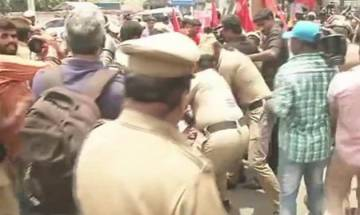 Protests erupt in Tamil Nadu over NEET petitioner S Anitha's suicide, police detain 300 CPM workers