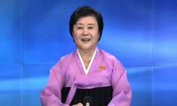 N Korea's 'pink lady' who enthusiastically announces nuclear bomb tests on TV