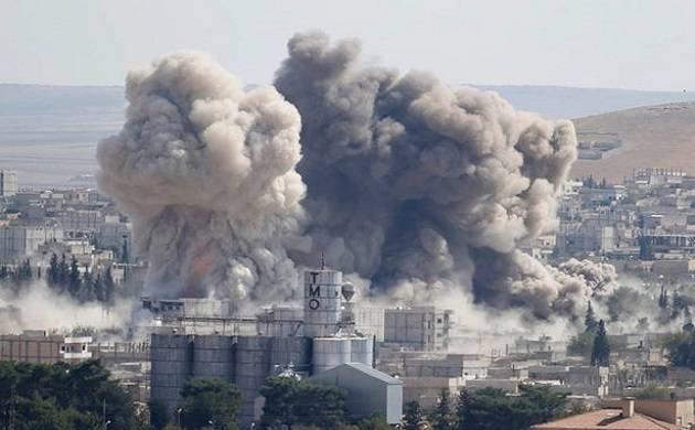 Israeli warplanes hit Syria target reportedly tied to chemical weapons, 2 killed