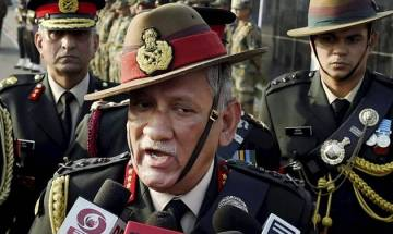 Miffed by Army Chief General Rawat's salami slicing remark, Chinese media calls him 'a big mouth'