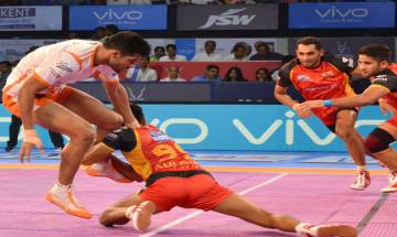 Pro-Kabaddi League 2017: Bengaluru Bulls defeat Puneri Paltan 24-20 in exciting contest