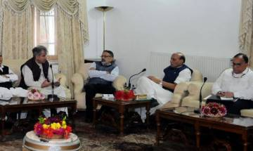 PDP, NC raise concerns with Rajnath over Article 35 A review