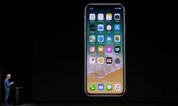 iPhone 8 launch event: Cook unveils iPhone X with 5.8-inch display at Steve Jobs Theater