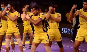 Pro-Kabaddi League 2017: Telugu Titans and Bengaluru Bulls match ends in dramatic 26-26 tie