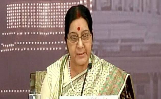 Indian Foreign Minister Sushma Swaraj (File photo)