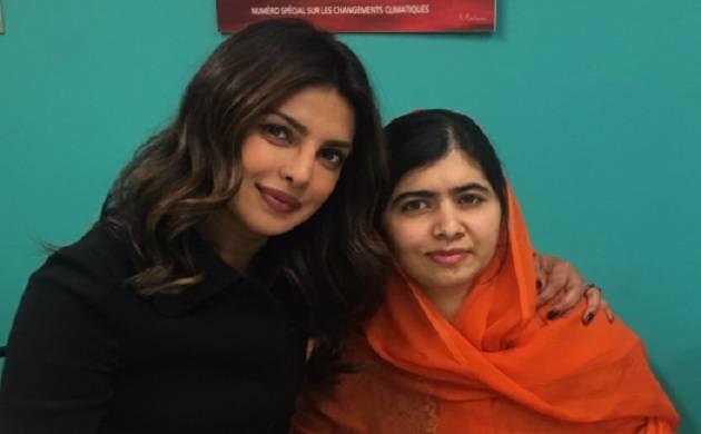 Priyanka Chopra meets youngest Nobel Peace Laureate Malala Yousafzai in New York
