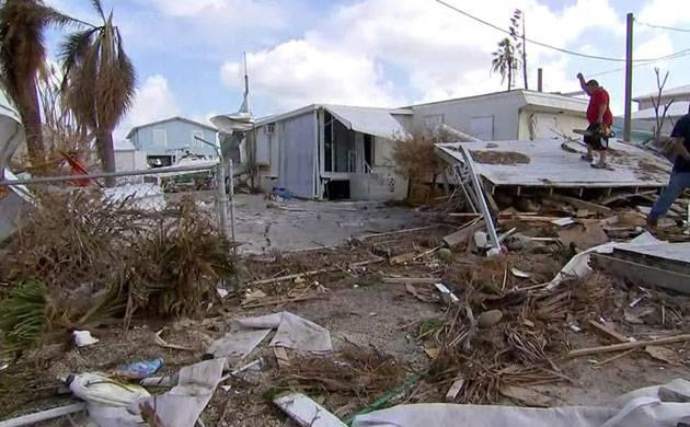 Puerto Rico suffers severe power cut as Hurricane Maria pummels island