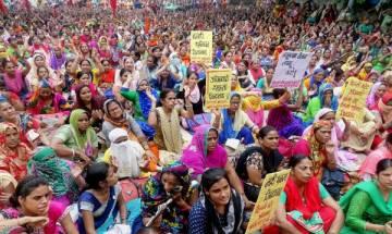 Despite salary hike Anganwadi workers in Maharashtra to continue strike