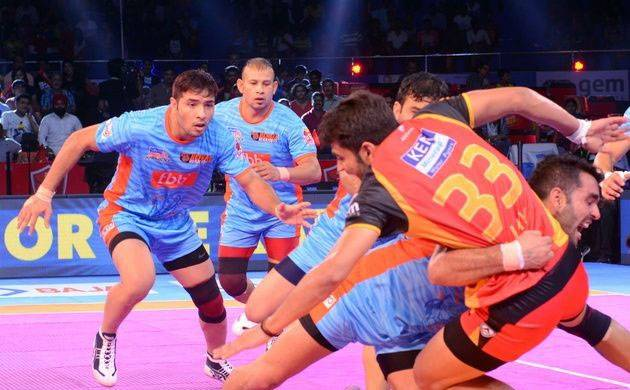 Pro-Kabaddi League: Bengal Warriors defeat Bengaluru Bulls 33-29 in thrilling encounter