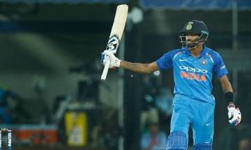 Pandya's quickfire knock up the order turning point in India's win over hapless Australia in Indore ODI