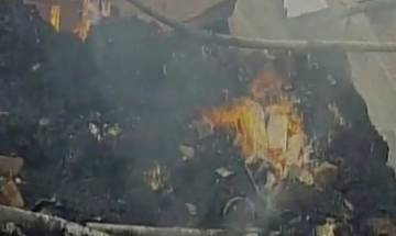 WB: Fire breaks out at firecracker factory in North 24 Parganas; 20 injured