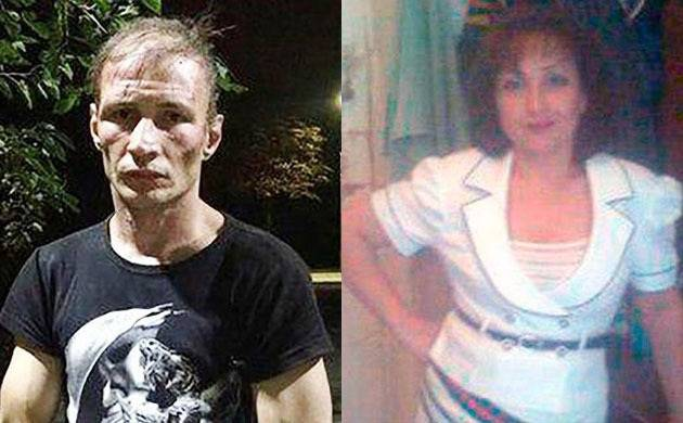 The couple has been identified as Dmitry Baksheev (35) and Natalia Baksheeva (42) (Agency)