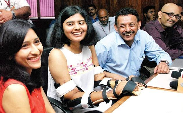 Asia's first upper arm double hand transplant give new lease of life to 19-year-old student.