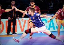 Pro-Kabaddi League: UP Yoddha thrash Dabang Delhi 45-16