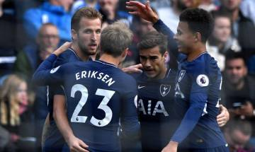 Harry Kane scores twice as Tottenham Hotspur trounce Huddersfield Town 4-0, climb to third sport in Premier League table