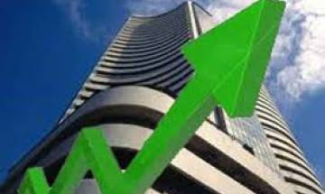Sensex surges 332 points, Nifty trades above 9,800 mark amid optimistic buying ahead of RBI policy review