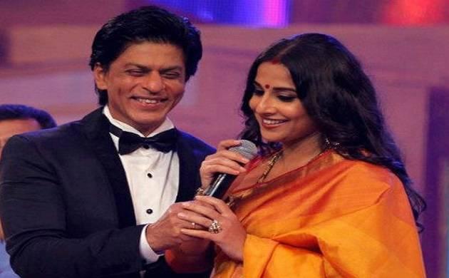 I wake up to a betting looking SRK, claims Vidya Balan