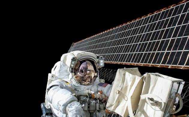 Two NASA astronauts will spacewalk outside the International Space Station to repair robotic arms. (File Photo)