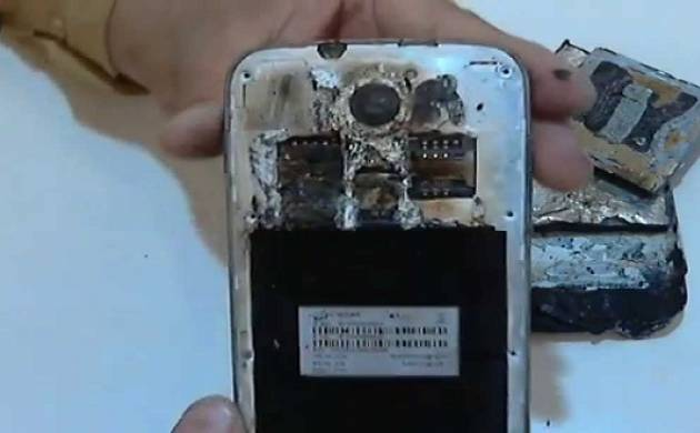 A Samsung Galaxy Grand duos phone has reportedly exploded in a man's pocket in Indonesia. (Source: Samsung)