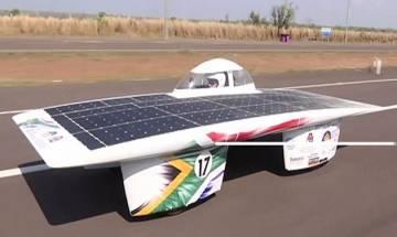 Epic 3000 km solar car race begins in Australia