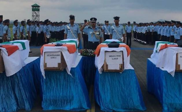 IAF helicopter crash: Soldiers' bodies packed in broken cardboards, Army terms it aberration. (Source: Twitter/ADG PI)