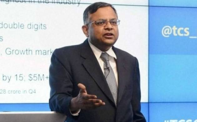 Tata Group chairman N Chandrasekaran says interested in bidding for Air India. (File Photo)
