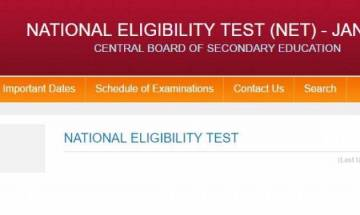 CBSE UGC NET Admit Cards 2017 expected on October 18 at cbsenet.nic.in
