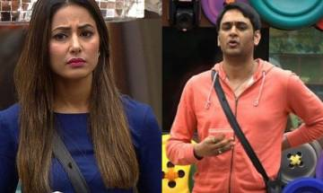 Bigg Boss 11, Episode 10, Day 9, highlights: Hina-Vikas have an argument over captaincy