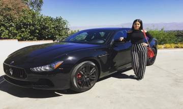 Sunny Leone now owns a limited-edition Maserati Ghibli Nerissimo worth Rs. 1.3 crore