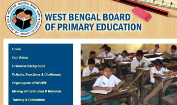 West Bengal TET Registration 2017 begins for classes I - V at wbbpe.org or wbsed.gov.in