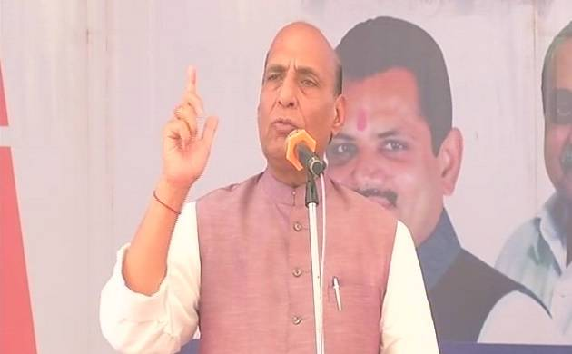 Rajnath Singh blames Jawaharlal Nehru for Kashmir issue, says no power can stop its resolution