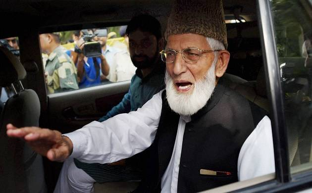 Geelani says Union Home Minister's remark 'admission' that Kashmir not part of India. (File Photo)