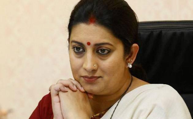 Smriti Irani asks Congress to come clean on Bofors