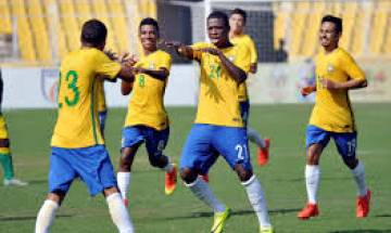 FIFA U 17 World Cup: Benner's brace helps title favourites Brazil trounce Honduras 3-0, set up high voltage quarters with Germany