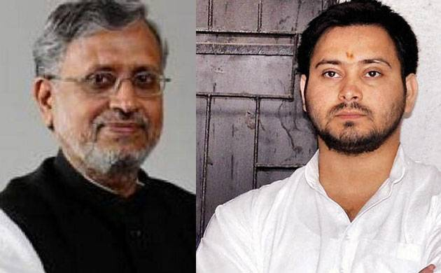 Bihar deputy CM Sushil Modi, Tejashwi Yadav engage in Twitter spat