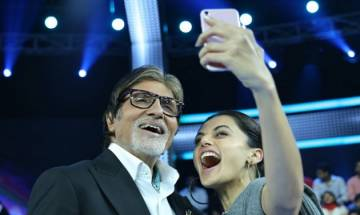 Kaun Banega Crorepati 9: Amitabh Bachchan reunites with his 'Pink' co-star Taapsee Pannu