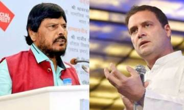 Union Minister Ramdas Athawale suggests Rahul Gandhi to marry Dalit