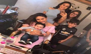 Aunt Karisma Kapoor reveals plans of Taimur's first birthday party!