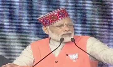 Himachal elections: PM Modi in Kangra slams Congress, terms party 'laughing club'