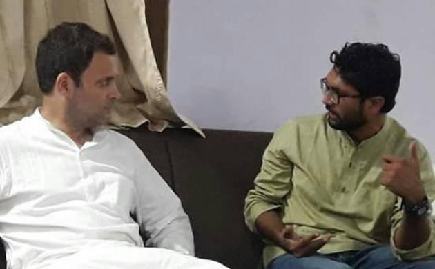 Gujarat Assembly polls 2017: Congress vice-president Rahul Gandhi meets Dalit leader Jignesh Mewani