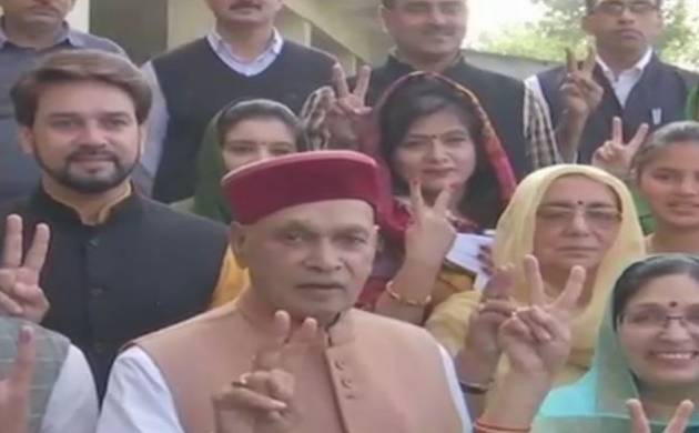 Himachal Pradesh polls 2017: PK Dhumal claims BJP will get 60 seats