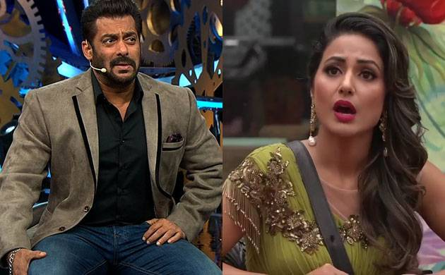 Bigg Boss 11: Salman Khan GRILLS Hina Khan in Weekend Ka Vaar Episode (watch video)