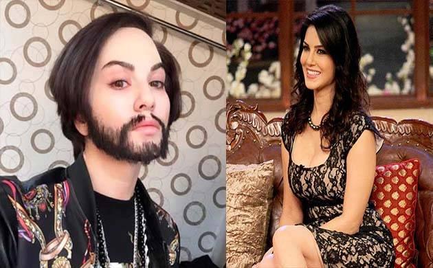 Watch: Sunny Leone's transformation into a man is a true shocker!